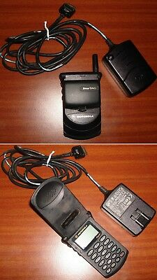 Cell phone Motorola Model StarTAC 7790 And Charger