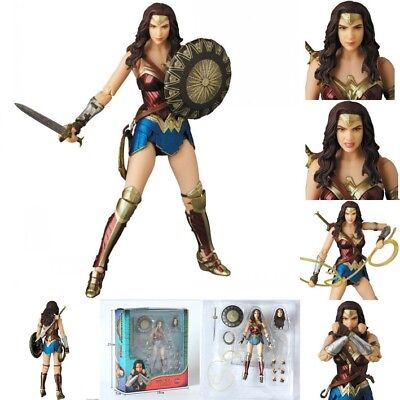 Mafex No. 048 Justice League Wonder Woman PVC Action Figure New In Box