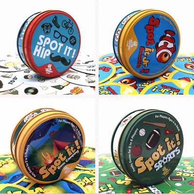 Spot It Dobble Find It Board Funny Card Game For Family Gathering Xmas Party UK