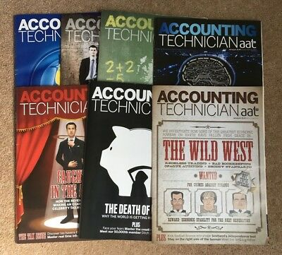 7 editions of AAT Accounting Technician Magazine