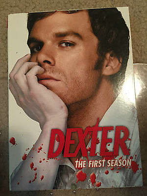 Dexter -The Complete First Season (DVD, 2007, 4-Disc Set) GREAT SHAPE