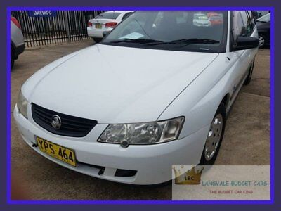 2003 Holden Commodore VY II Acclaim White Automatic 4sp A Wagon