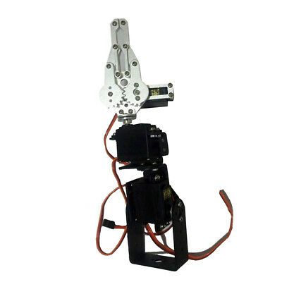 3 DOF Mechanical Robot Arm Clamp Claw DIY Kit Manipulator for Robotics