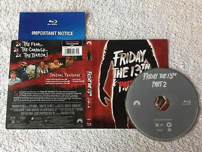 Friday The 13th - Part 2 (Blu-ray Disc, 2013)