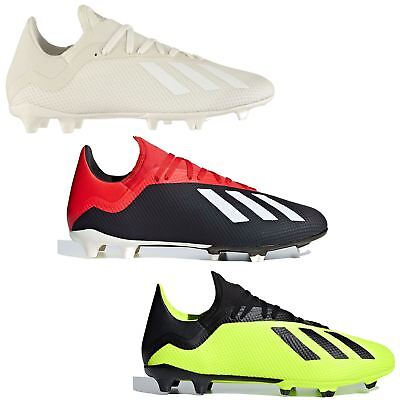 812c4cb45bb adidas X 18.3 FG Firm Ground Football Boots Mens Soccer Shoes Cleats