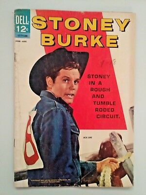 Stoney Burke #1, (1963), VG Shape, Dell Comics, Free Shipping!