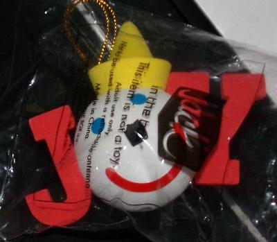 JACK in the BOX   Holiday Antenna Topper   JOY - RED    NEW