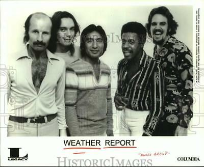 1997 Press Photo Weather Report - members of the band - hcx42548