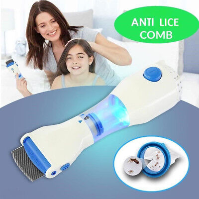 Electric Head Lice Removal - Anti Lice/Flea Comb
