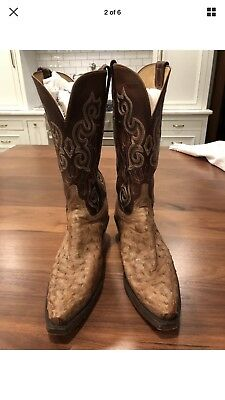 36af8cad82f LUCCHESE 1883 WOMEN'S boots with turquoise stitching - size 8 C ...