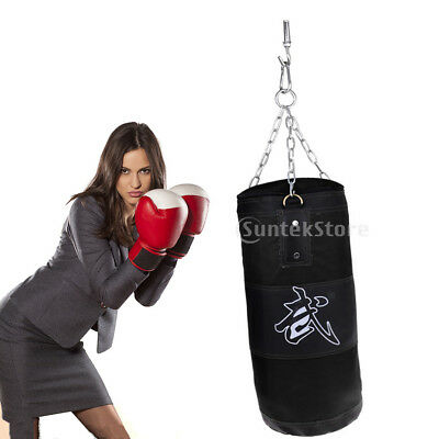 Heavy Duty Punching Boxing Bag Martial Arts Kicking Sandbag MMA Training