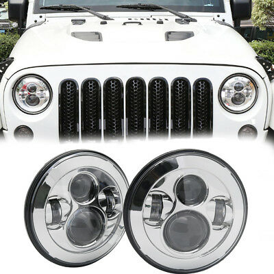 Headlight 7 inch suitable for Land Rover Nissan Ford Toyota Harley touring