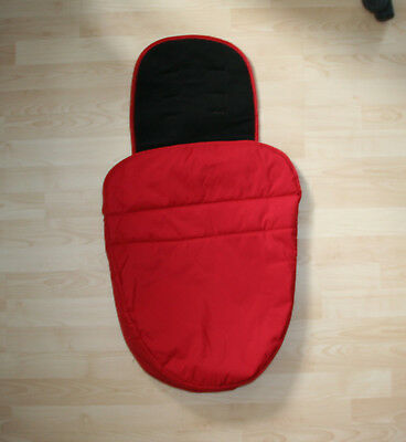 Graco Universal Red / Black Footmuff Cozytoes PRISTINE, USED ONCE