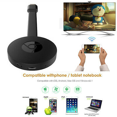 For Google 3nd Generation Chromecast 3 Digital Video Streamer For IOS/Android PC