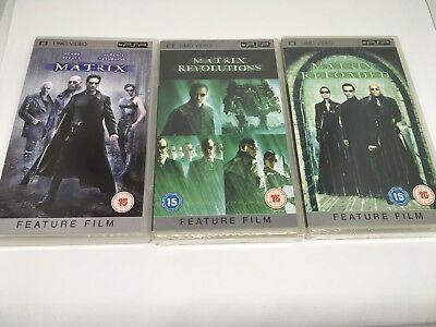 The Matrix/Matrix Reloaded/Matrix Revolutions (UMD, 2008) 3 UMDS