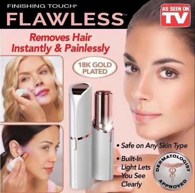 Women's Flawless Brows Facial Hair Remover Electric Eyebrow Trimmer Epilator TV!
