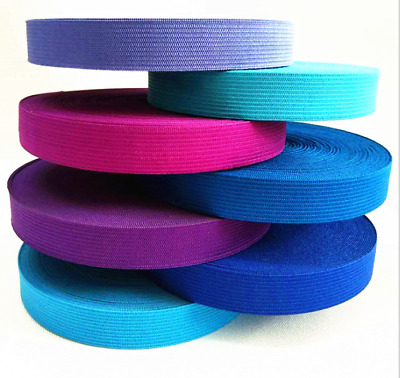 wholesale 2-10meter elastic band Clothing accessories flat elastic band 20mm