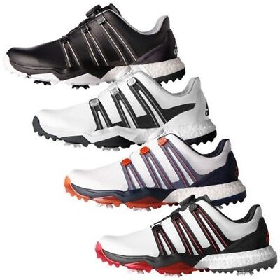 timeless design d407e 99886 Adidas Golf Hommes Powerband Boa Stimulant WD Chaussures de Fitfoam  Imperméable