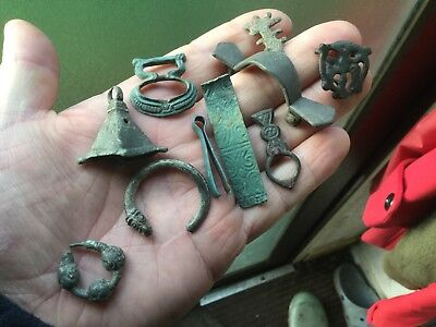 Handful Of Ancient And Medieval Artefacts