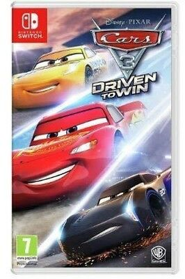 Switch Game Cars 3: Driven to Win New