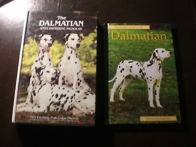The Dalmatian, Two Books, Care, Training, Breeding, Show, Indexed.