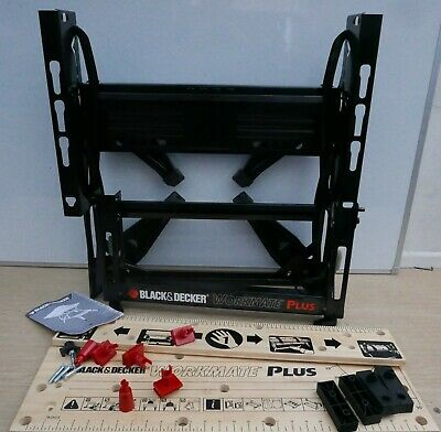 Black & Decker Wm825 Deluxe Dual Height Workmate 740Mm Jaws