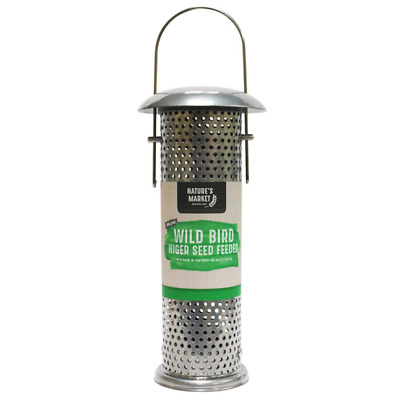 Wild Bird Deluxe Niger Seed Feeder Garden Nyjer Outside Nature's Market BF025