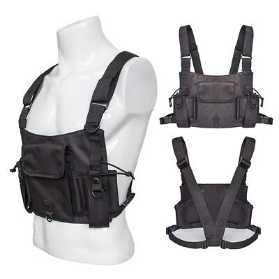 Black Military Vest Accessory Multifunctional Outdoor Assault Carrier Clothes