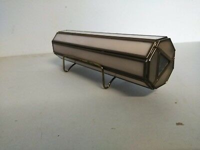 Kaleidoscope HTF Very Cool. Pink Color Marble? With Stand 9.5' long vtg