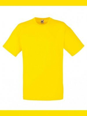T-Shirt Maglietta UOMO MANICA CORTA Fruit of the loom Value - Personalizzabile