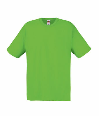 T-Shirt Maglietta UOMO MANICA CORTA Fruit of the loom Original T - Personaliz.