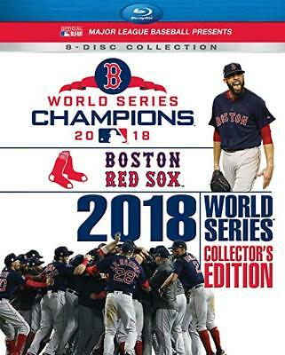 2018 World Series Champions: Bostom Red Sox Collector's Edition Blu-Ray