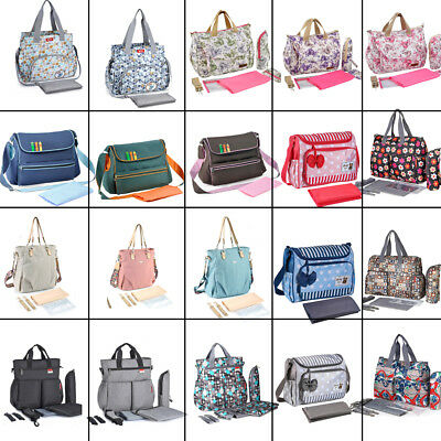 insular Mummy Maternity Nappy Diaper Bag Large Capacity Baby Bag Travel Handbags