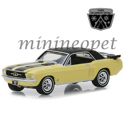 1967 FORD MUSTANG-SKI Country SPECIAL *** Greenlight 1:64 NUOVO OVP