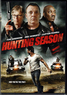 HUNTING SEASON The MOVIE on a DVD of CRIME Murder ORGAN TRAFFICKING Cop FBI New!