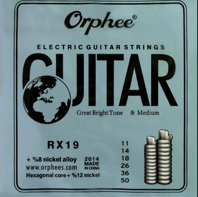 Electric guitar strings 0.11 + 6 Free picks + Free delivery