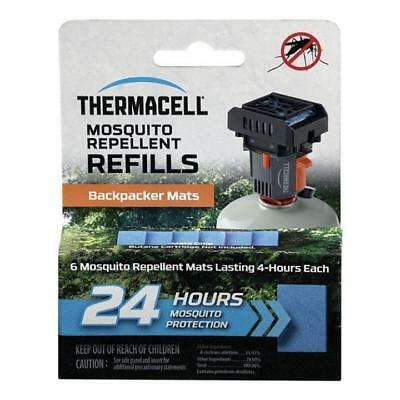 Thermacell M-24 Backpacker Mat Refill 24 Hour Pack Mosquito Repellent Stop BUGS