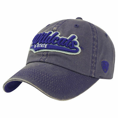 newest 0d94b a9d71 Kansas State Wildcats Official NCAA Adjustable Park Hat Cap by Top of the  World