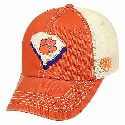 quality design 94783 daa0f Clemson Tigers Official NCAA Adjustable United Hat Cap by Top of the World