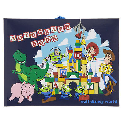Disney World Official Toy Story Land Autograph Book, NEW