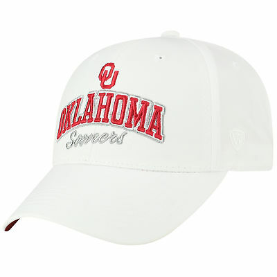 new style ba92e 9b835 Oklahoma Sooners Official NCAA Adjustable Advisory Hat Cap by Top of the  World