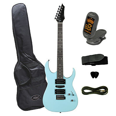Artist AG45 Sonic Blue Electric Guitar Plus Accessories - New