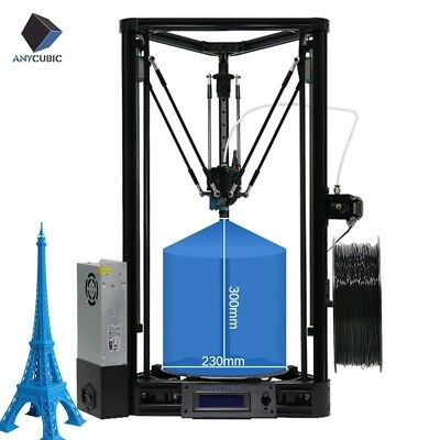 AU STOCK ANYCUBIC Delta Rostock Kossel Plus Linear 3D Printer Auto Leveling Kit