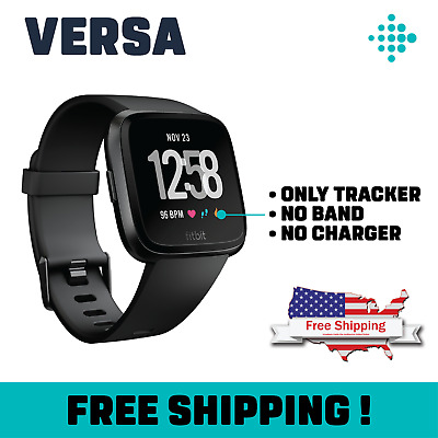 NEW Fitbit Versa Smart Watch Heart Rate Fitness Wristband (Pebble only)