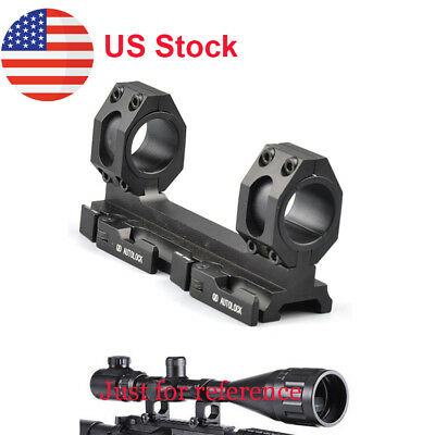 25mm-30mm Dual Ring Cantilever Scope Quick Detach Mount QD Lock 20mm Weaver Rail