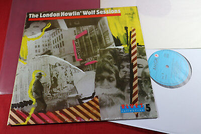 Howlin Wolf  THE LONDON SESSIONS - BLUES COLLECTION 5 - LP Amiga 1986 near mint