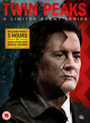 Twin Peaks A Limited Event Series DVD Box Set NEW