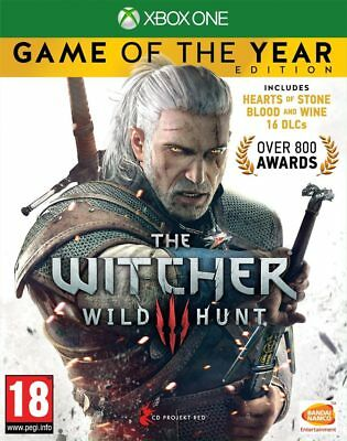 The Witcher 3: Wild Hunt - Game of the Year Edition (Xbox One)  NEW AND SEALED
