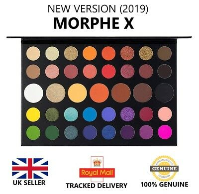 Morphe X James Charles Inner Artist 39 Pressed Eye Shadow Palette Make-Up UK