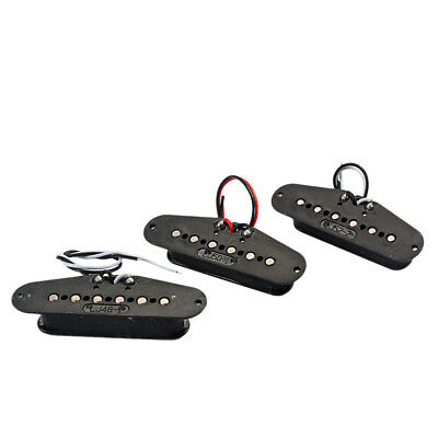Set of 3pcs Single Coil Pickup Alnico 5 for Stratocaster Replacement Parts